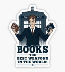 Pegatina Libros