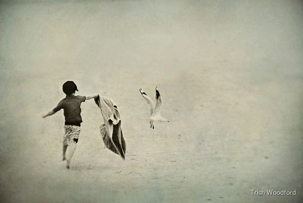 Seaspray IV by Trish Woodford