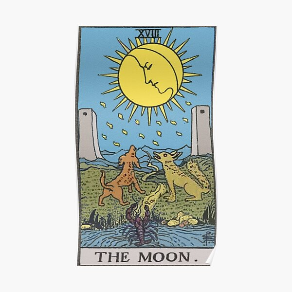 Tarot - The Moon Poster