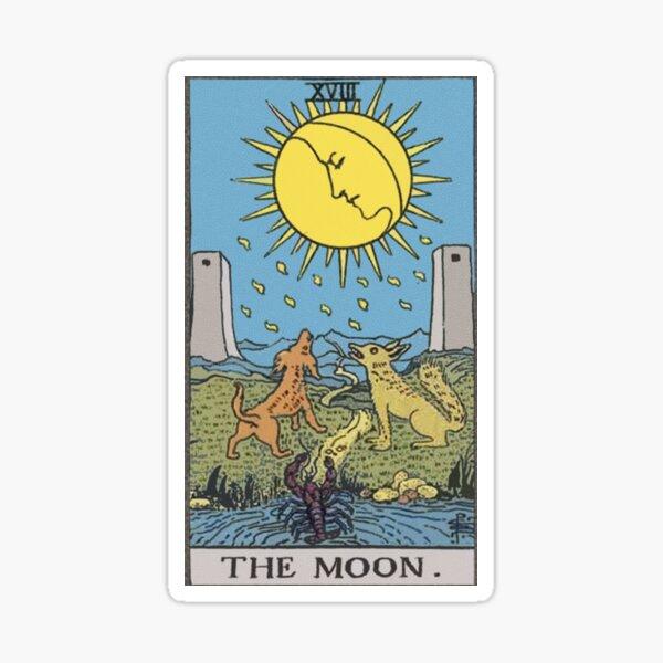 Tarot - The Moon Sticker