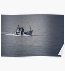 Fishing Vessel Poster