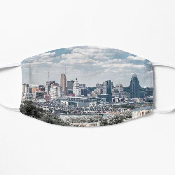 Summer in Cincinnati Flat Mask