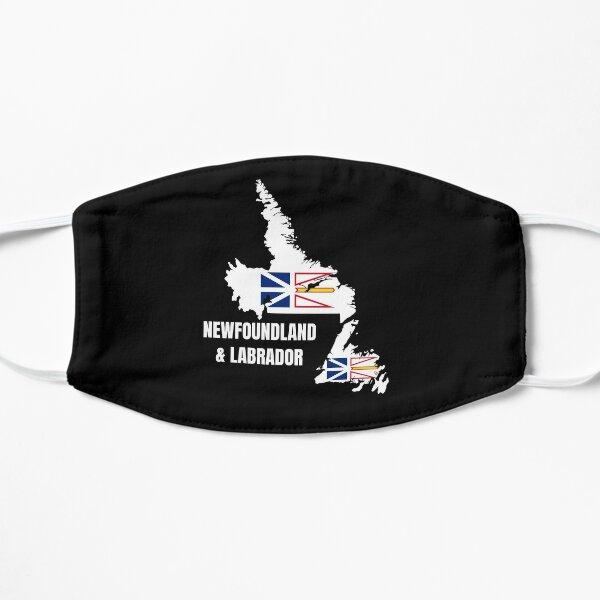 Newfoundland and Labrador Flag Map, NL, Canada Flat Mask