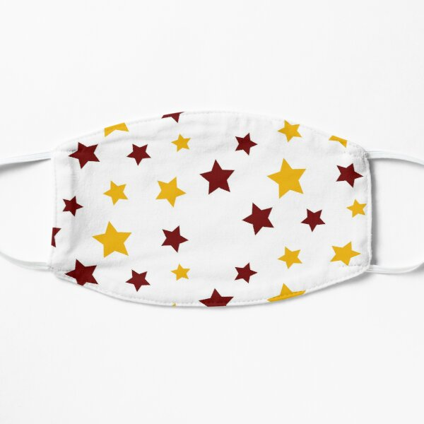 Maroon and Gold Stars Mask