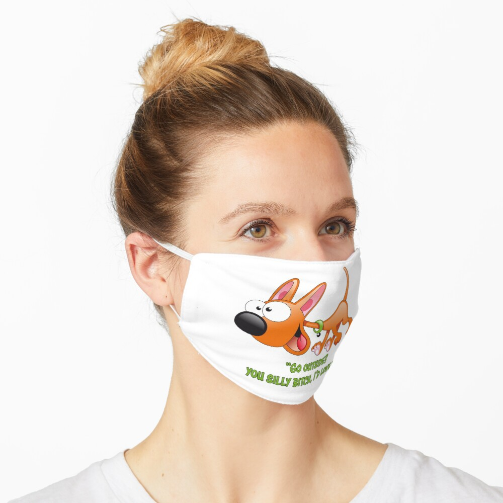 Dogs Are Out The Door II Mask