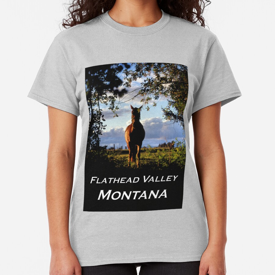 Equine, Evergreen Montana Classic T-Shirt