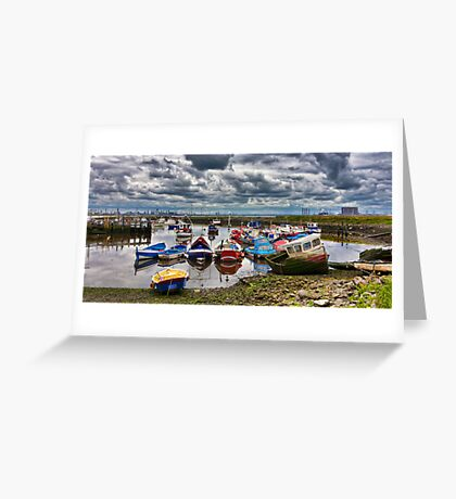 The Fishing Fleet Greeting Card