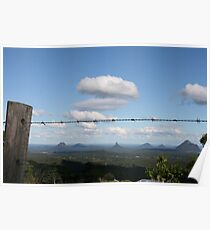 The Glass House Mountains Poster