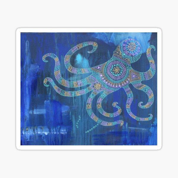 Octopus Mandala Sticker