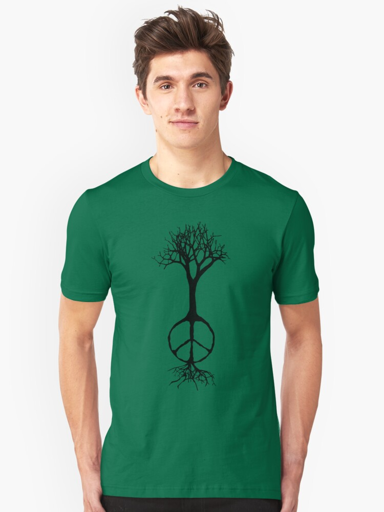 Hope rooted in peace Unisex T-Shirt Front