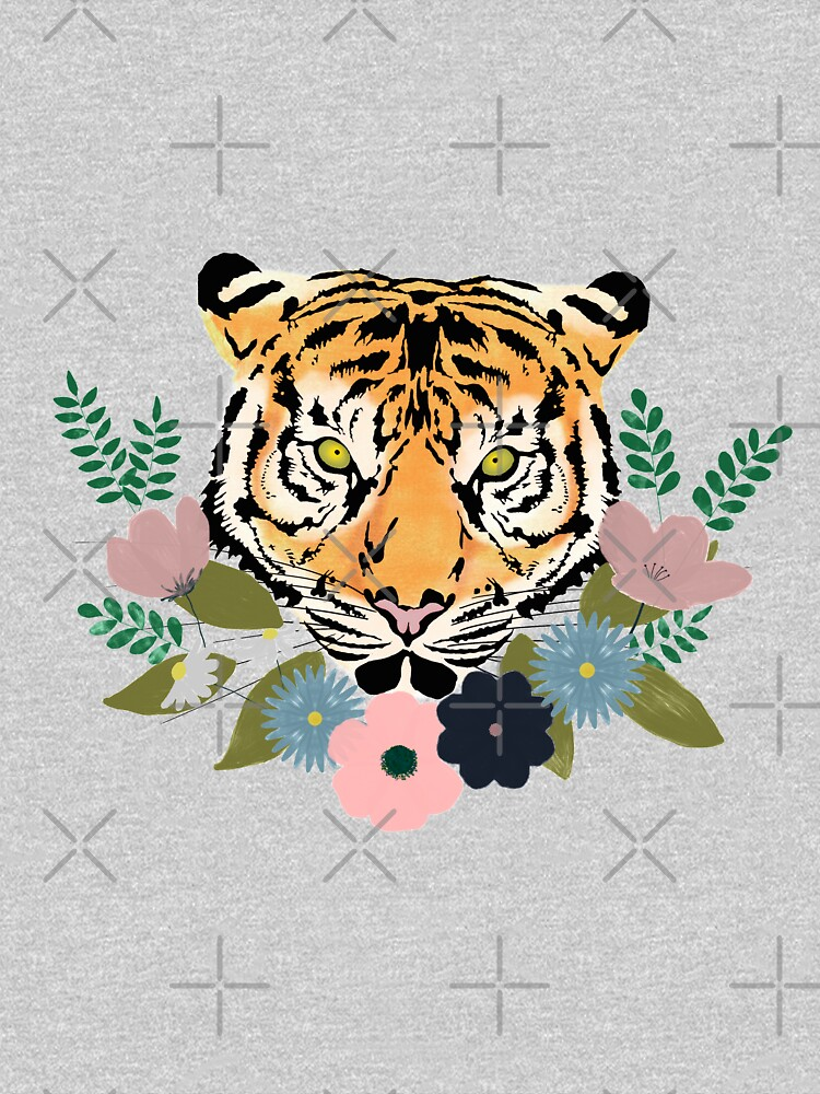 Floral Tiger by kmg-design