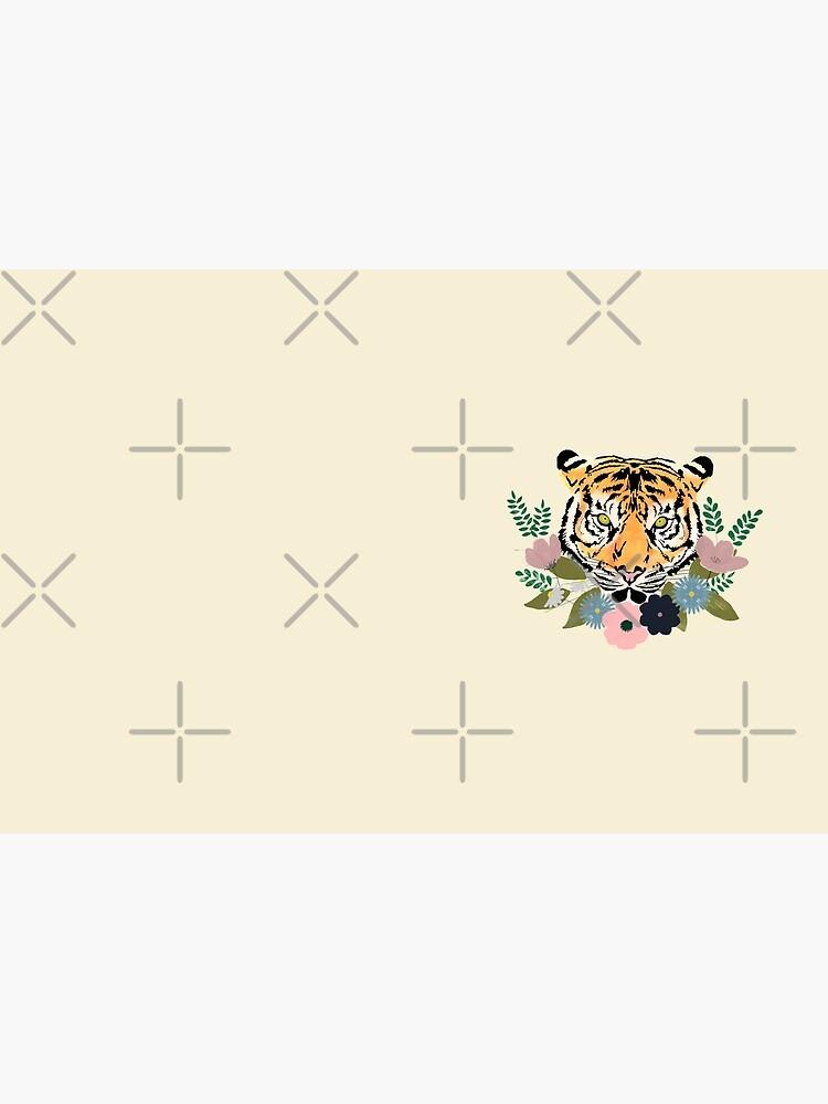 Floral Tiger by kmg-design