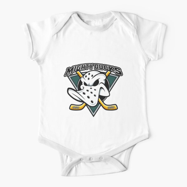 Le hockey des Mighty Ducks des années 90 Body manches courtes