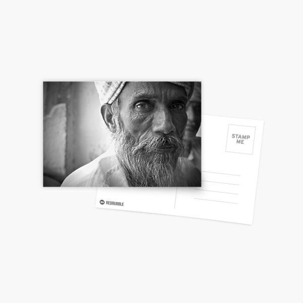 an indian portrait Postcard
