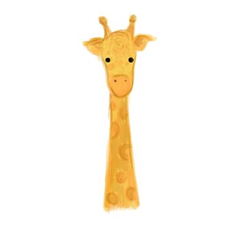 Baby Giraffe by natfish