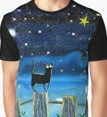 Paper Stars Graphic T-Shirt