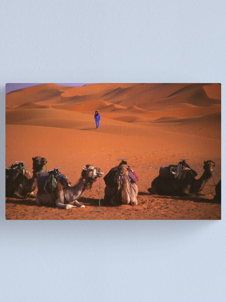 Alternate view of the sahara Canvas Print