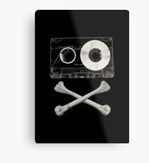 Pirate Music Metal Print
