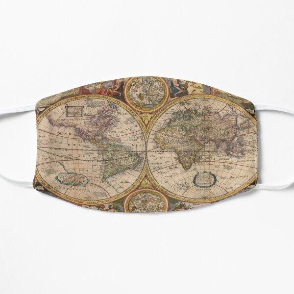 Antique Map Mask Mask