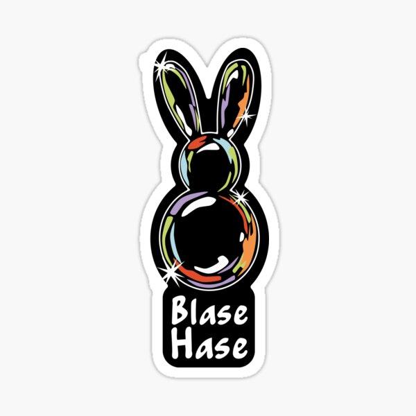 Blasehase - Der Sticker Sticker