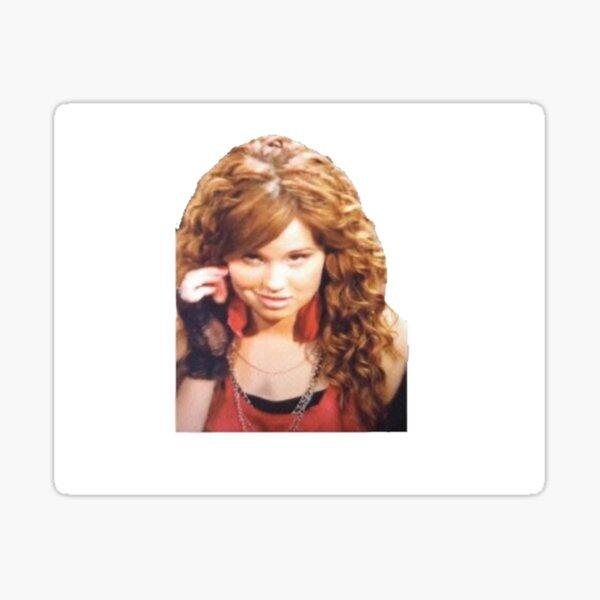 """The Debby Ryan meme"" Sticker by pinksparkles14 | Redbubble"