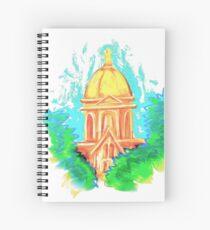Golden Dome Spiral Notebook