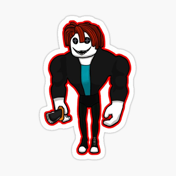 Thinknoodles Roblox Stickers Redbubble