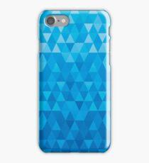 jewel background blue iPhone Case/Skin