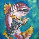 Drummer Fish by Ellen Marcus