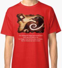 Odin's Raven Muninn Classic T-Shirt