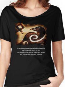 Odin's Raven Muninn Women's Relaxed Fit T-Shirt