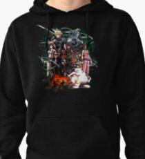 Final Fantasy VII - Collage Pullover Hoodie