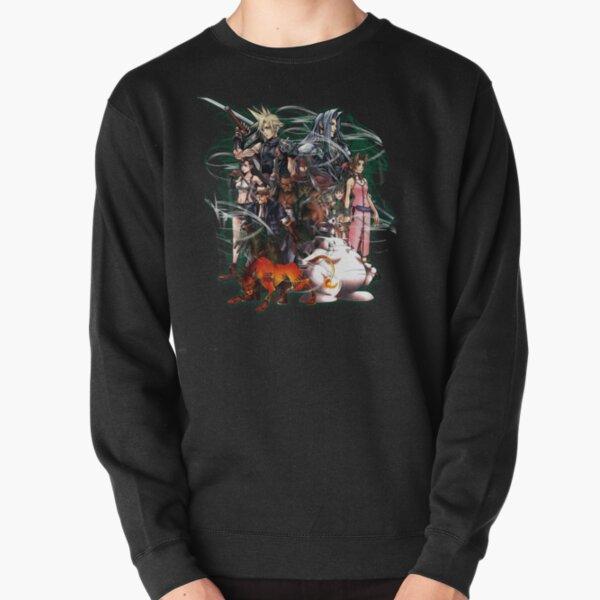 Final Fantasy VII - Collage Pullover Sweatshirt