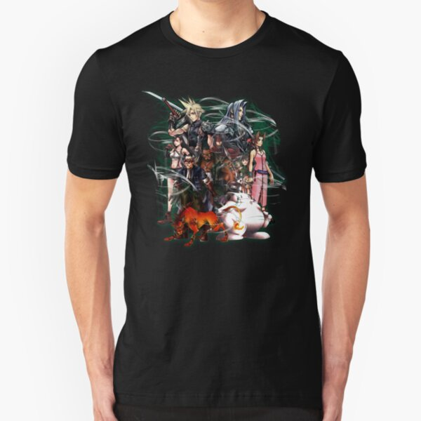 Final Fantasy VII - Collage Slim Fit T-Shirt