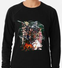 Final Fantasy VII - Collage Leichtes Sweatshirt