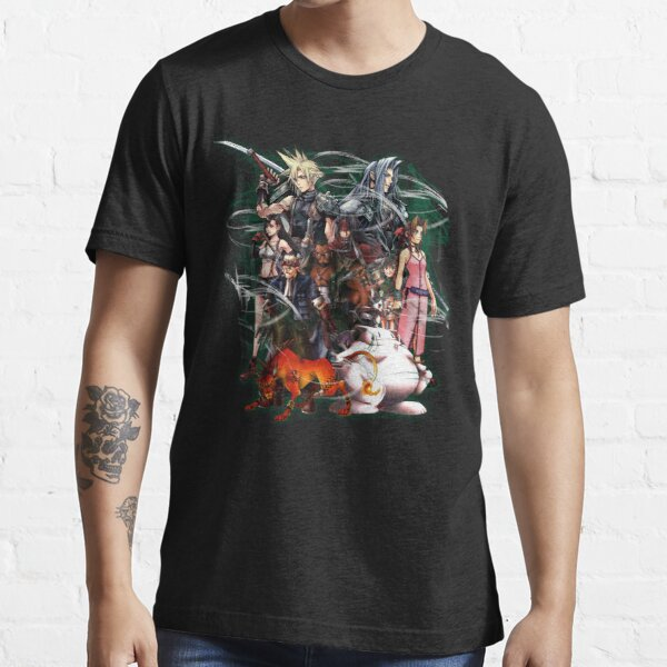 Final Fantasy VII - Collage Camiseta esencial