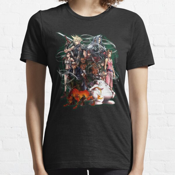 Final Fantasy VII - Collage Essential T-Shirt
