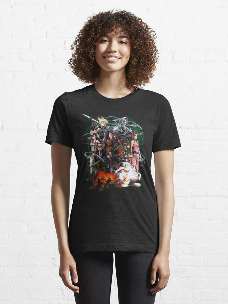 Alternate view of Final Fantasy VII - Collage Essential T-Shirt
