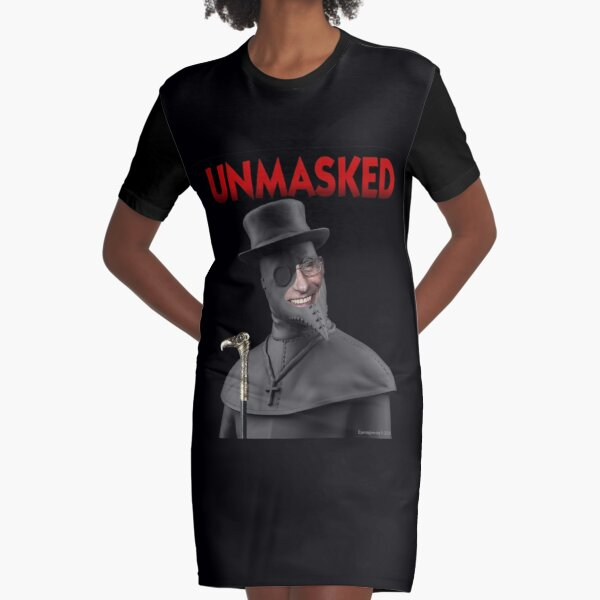 Unmasked Graphic T-Shirt Dress