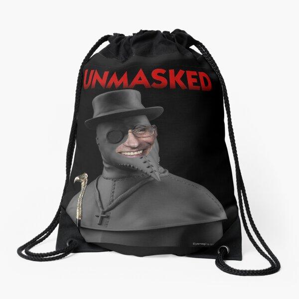 Unmasked Drawstring Bag