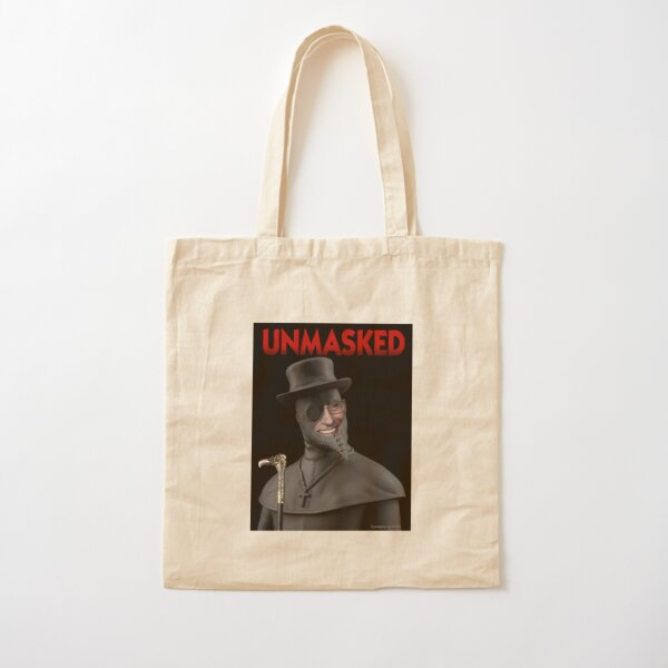 Unmasked Cotton Tote Bag