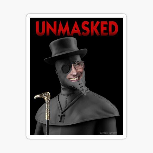 Unmasked Sticker