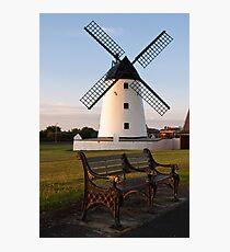Lytham Windmill Photographic Print
