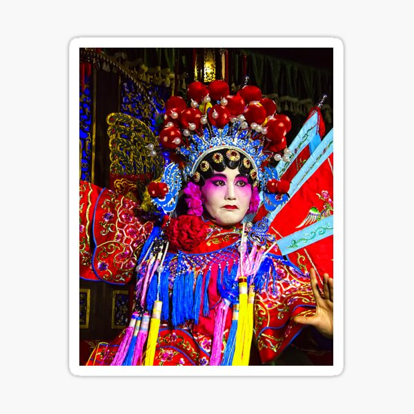 Sichuan Opera in the People's Republic of China Sticker