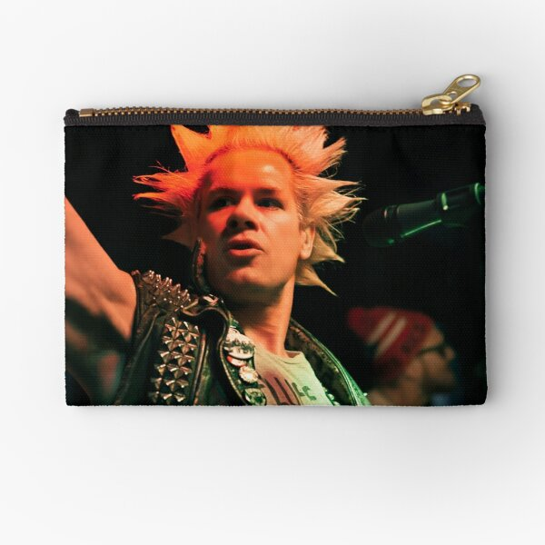 Music Show in the East Village of New York City Zipper Pouch