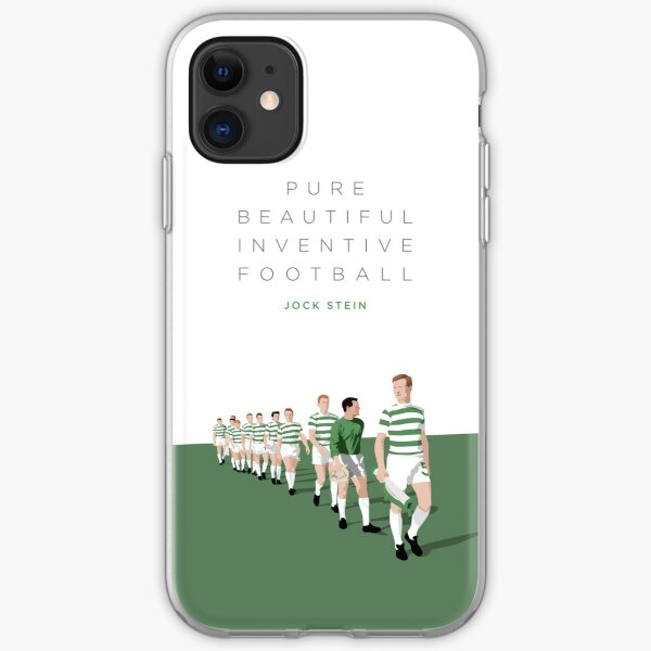 Pure Beautiful Inventive Football - Lisbon Lions iPhone Soft Case