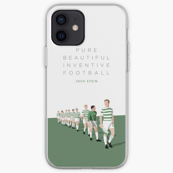 Pure Beautiful Inventive Football - Lisbon Lions iPhone Soft Case