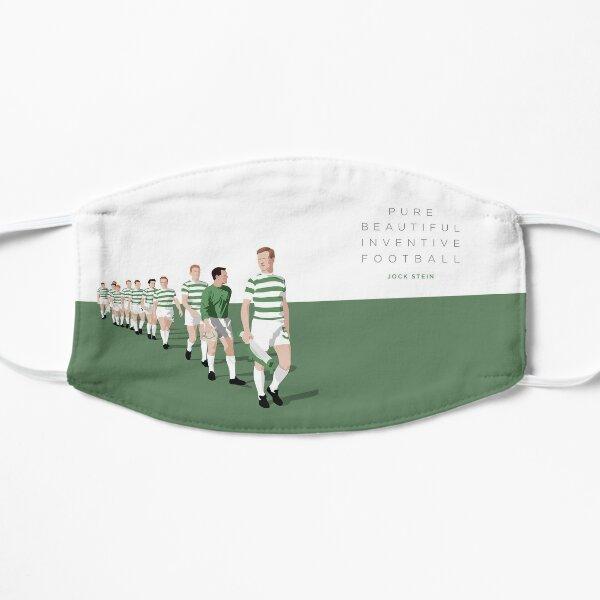 Pure Beautiful Inventive Football - Lisbon Lions Flat Mask