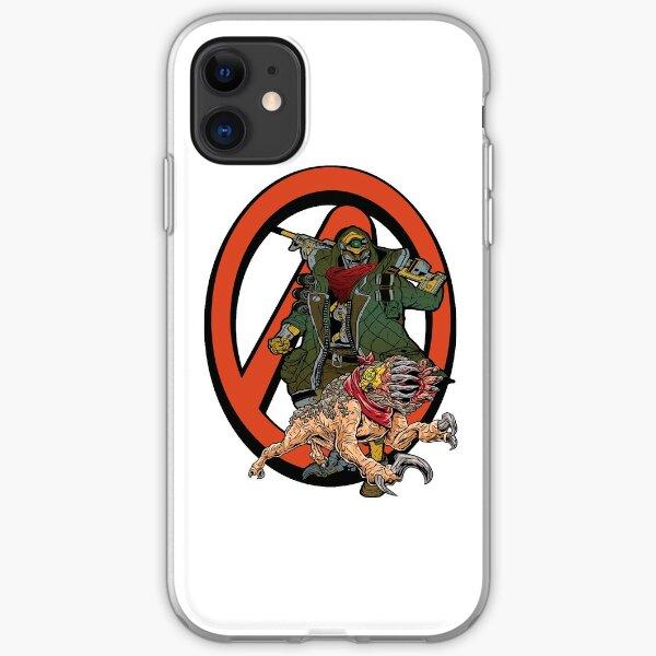 FL4K The Beastmaster With Guard Skag Borderlands Vault Symbol Rakk Attack! iPhone Soft Case