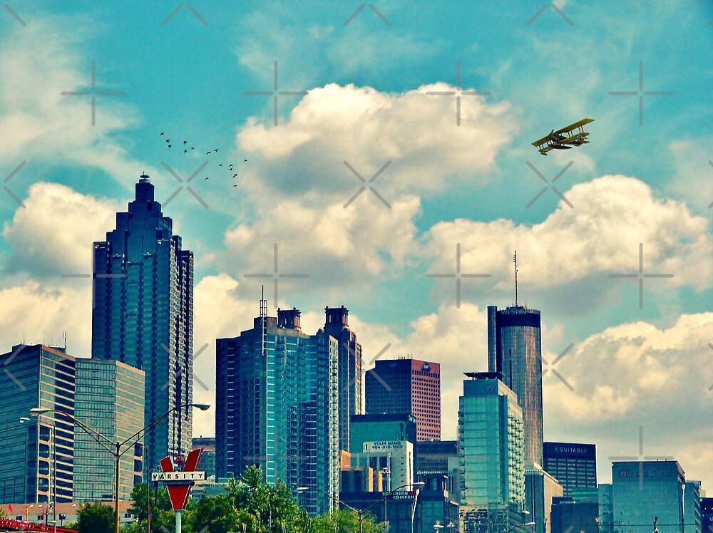 Atlanta Georgia Skyline 2012 by Scott Mitchell